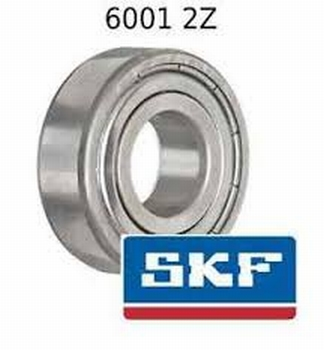 Ležaj 6001 SKF ZZ  komad