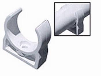 PVC nosač cijevi F25mm VECAM