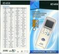 Univerzalni daljinski za klimu KT - 518